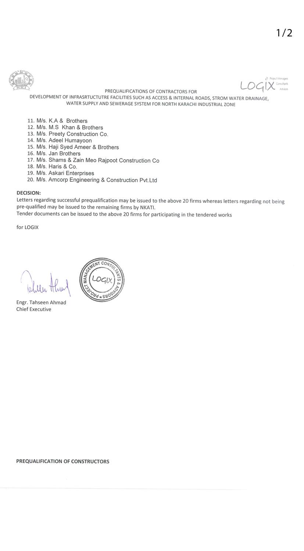 Pre qualification letter mersnoforum pre qualification letter spiritdancerdesigns Choice Image